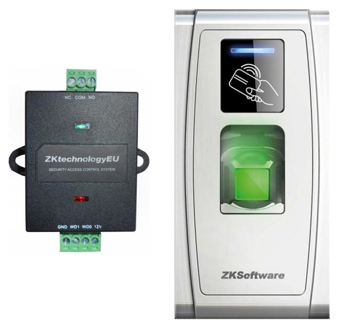 Terminal F 252 R Zugangskontrolle Tf1700 Mit Fingerabdruck Und